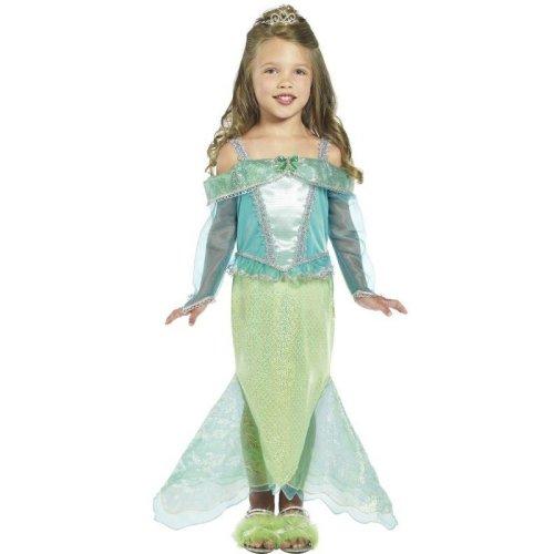 Mermaid Princess Costume, Toddler Age 3-4