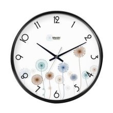 [A] 12 Inch Modern Wall Clock Decorative Silent Non-Ticking Wall Clock