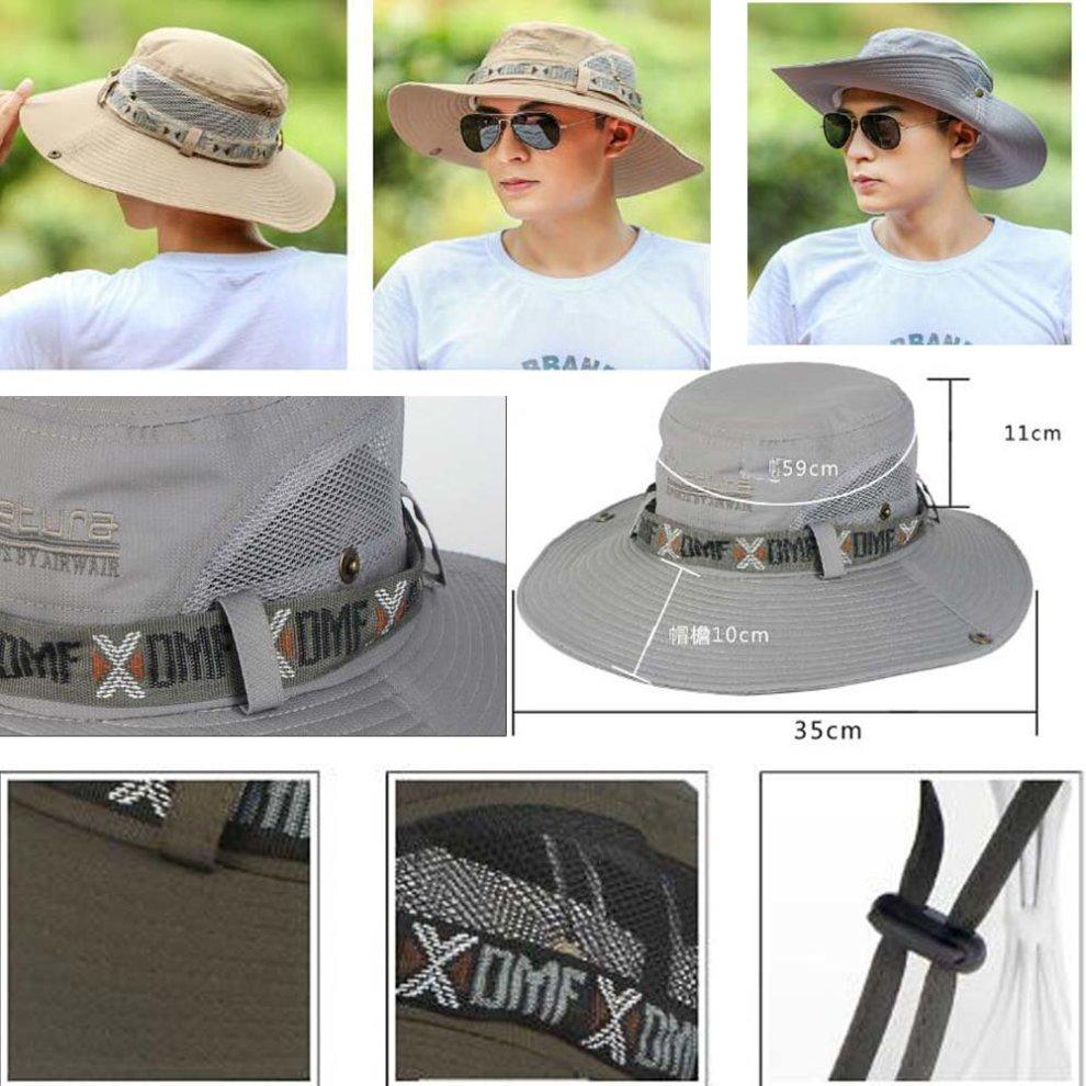 f6e07e52e38287 ... Men's Summer Visor UV Protection Hat Cap Hiking Golf Tennis Outdoor ...