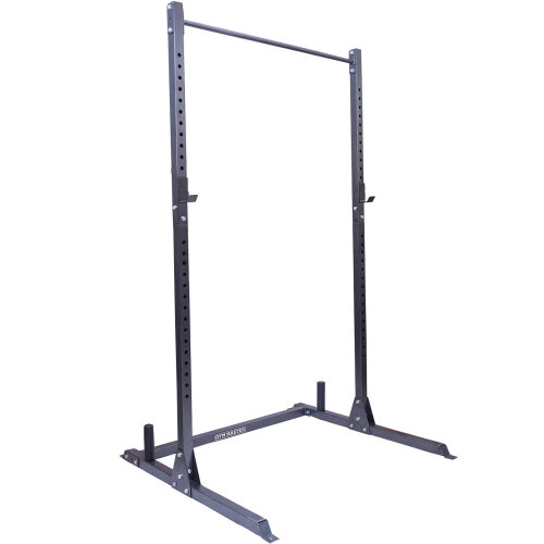 Gym Master Olympic Squat Rack Pull Up Bar Weight Lifting Power Cage Rack Bar
