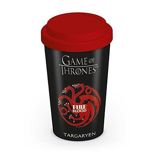 Game Of Thrones House Targaryen Travel Mug, Multi-colour -  mug game travel thrones targaryen ceramic house official