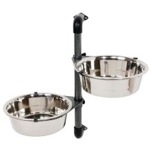 TRIXIE Wall-mounted Dog Bowl Set 2x2.8 L 25005