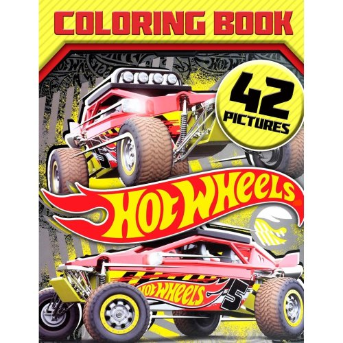 Hot Wheels Coloring Book: Great Book for Cars Lovers
