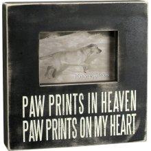 Primitives Box Frame - Paw Prints In Heaven