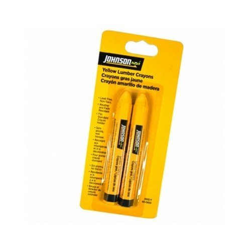 Johnson JL3502-Y Lumber Crayons Yellow