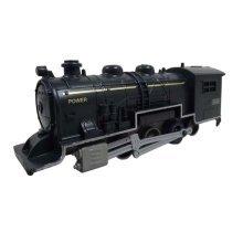 Simulation Locomotive Toy/Simulation Train Toy, Black(12.7*2.8*4CM)