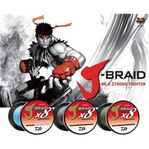 Daiwa JBGD8U8-150DG J-Braid x8 Grand 150 Yards Dark Green Filler Spools, 8 lbs