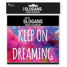 2019 Slogans Desk Calendar Positive Quotes Quotations Inspirational Motivational Christmas Birthday Gift