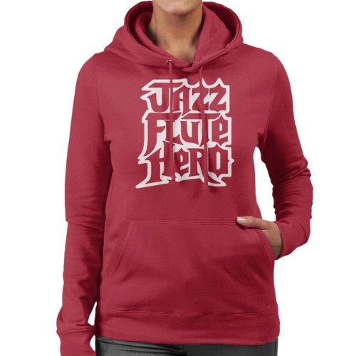 Anchorman Jazz Flute Hero Guitar Hero Women's Hooded Sweatshirt