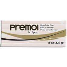 Premo Sculpey Polymer Clay 8oz-Translucent