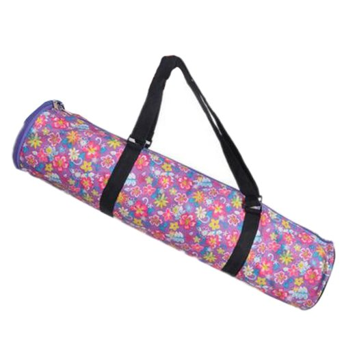 Simple Style Yoga Mat Tote Bag Carrier:  Lightweight, Durable, and Waterproof