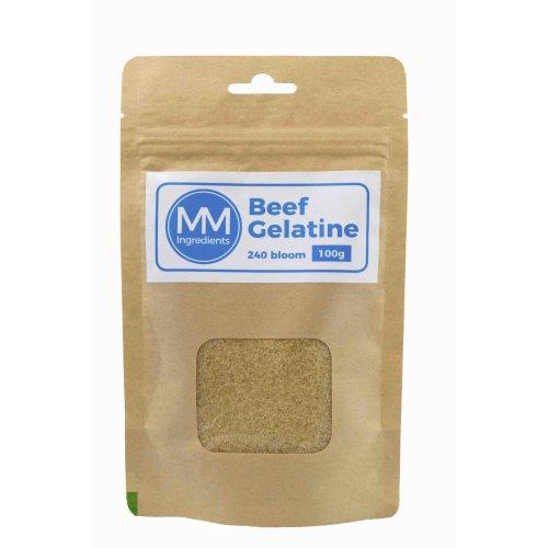 Beef gelatine 100g 240 bloom