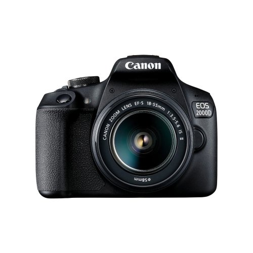 Canon EOS 2000D DSLR Camera & EF-S 18-55mm IS II Lens Kit