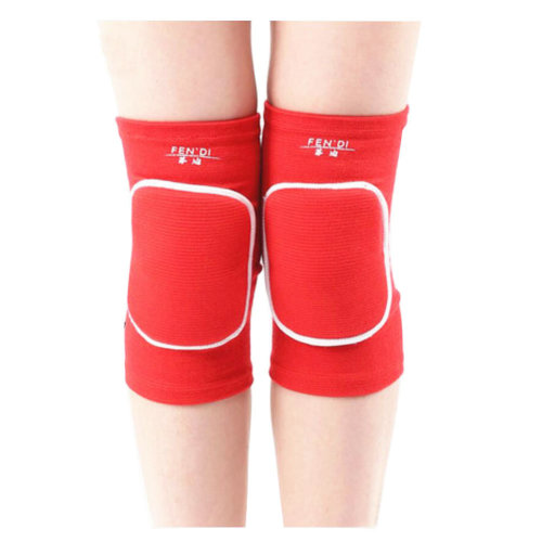Exercise & Fitness Knee Brace Yoga/Dance/Joint Pain Knee Pads L Red