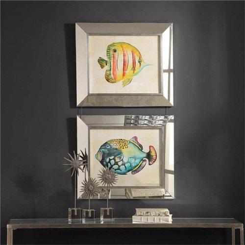 Uttermost 41590 Aquarium Fish Prints, Set of 2