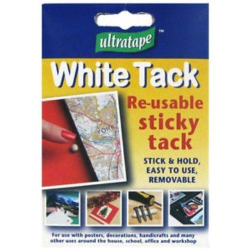 White Sticky Re-usable Tack Stick & Fix!