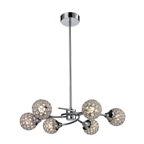 Gloucester 6 Arm LED Ceiling Light