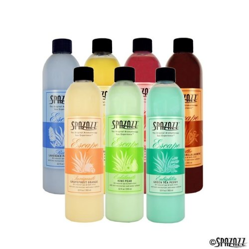 Spazazz Escape Hot Tub & Spa Fragrances.
