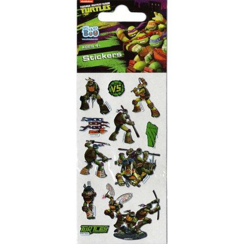 Teenage Mutant Ninja Turtles Stickers - Set of 3 Sheets