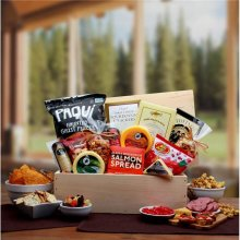 Gift Basket Associates 820772 Macho Munchies Crate