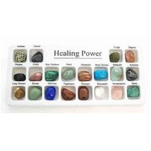 Set of 20 Healing Power Crystals in a Presentation Box