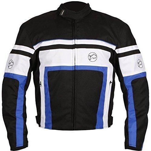 Buffalo Retro Blue Motorcycle Jacket