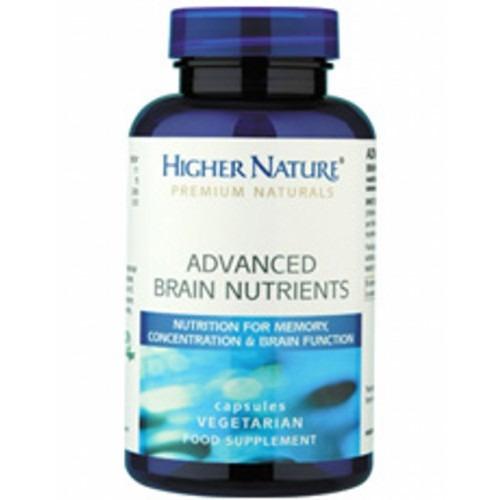 Higher Nature Premium Naturals Advanced Brain Nutrients 90's
