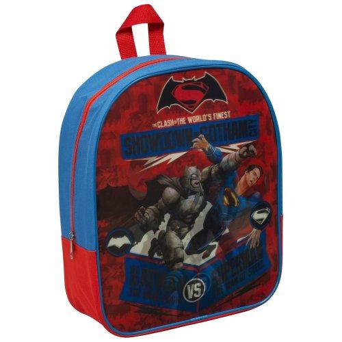 Clearance Batman VS Superman Backpack Lenticular School Children Kids Travel Shoulder Bag