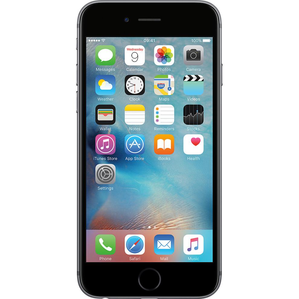 Tesco Mobile, 32GB Apple iPhone 6s Space Grey