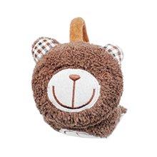 Winter accessory Child Yellow Bear Earmuffs Ear warmer plush Warm knit cover   #25