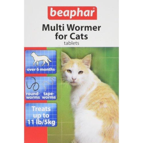 Beaphar Multiwormer Tablets for Cats