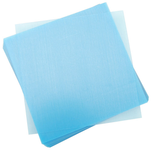 "Grafix Craft Plastic Sheets 8""X8"" 25/Pkg-Clear .020"