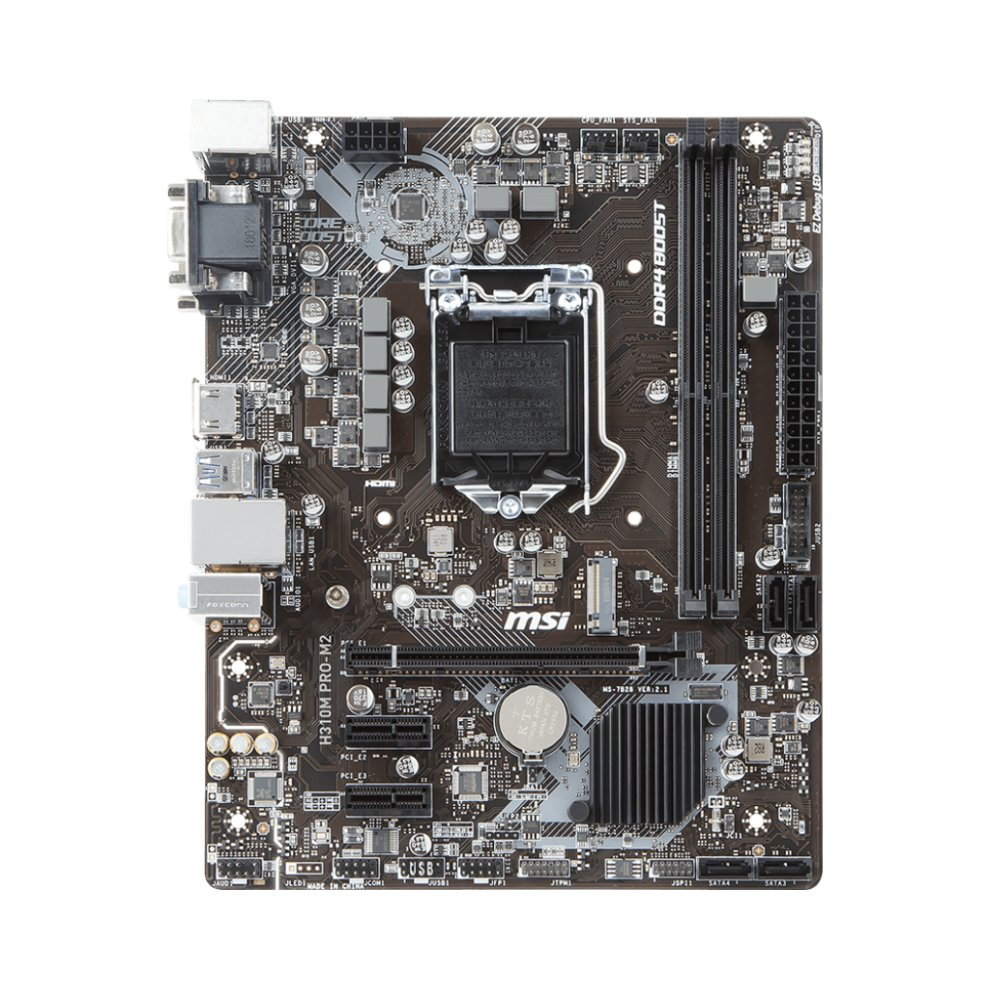 MSI H310M PRO-M2 Intel H310M LGA 1151 (Socket H4) Mini ATX