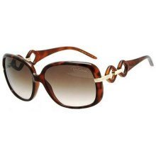 Roberto Cavalli Tortoise Ladies Sunglasses RC518S-52F