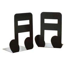Cartoon Iron Bookcase Creative Thicker Baffle-Note Black