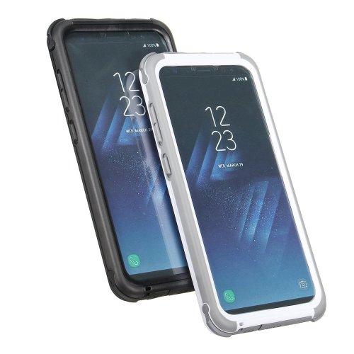 2 In 1 Waterproof Snowproof Dustproof Shockproof PC PET TPU Case for Samsung Galaxy S8 Plus 6.2''