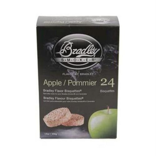 Bradley Smoker BTAP24 Apple Bisquettes 24 Pack