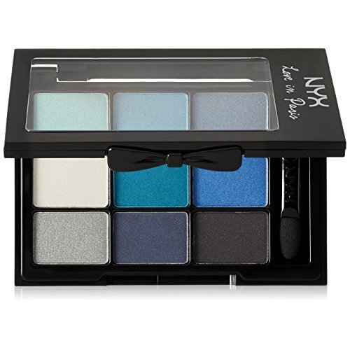 NYX Professional Makeup Love in Paris Eyeshadow Palette, Love Affair with Louis, 0.03 Ounce