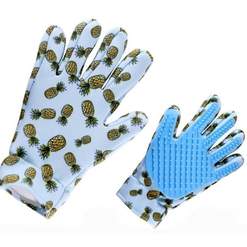 Pet Grooming Glove for Cats Pet Glove Hair Removal Right
