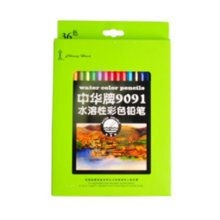 Brightly Water-soluble Color Pencils, Assorted Colors, 36 Count