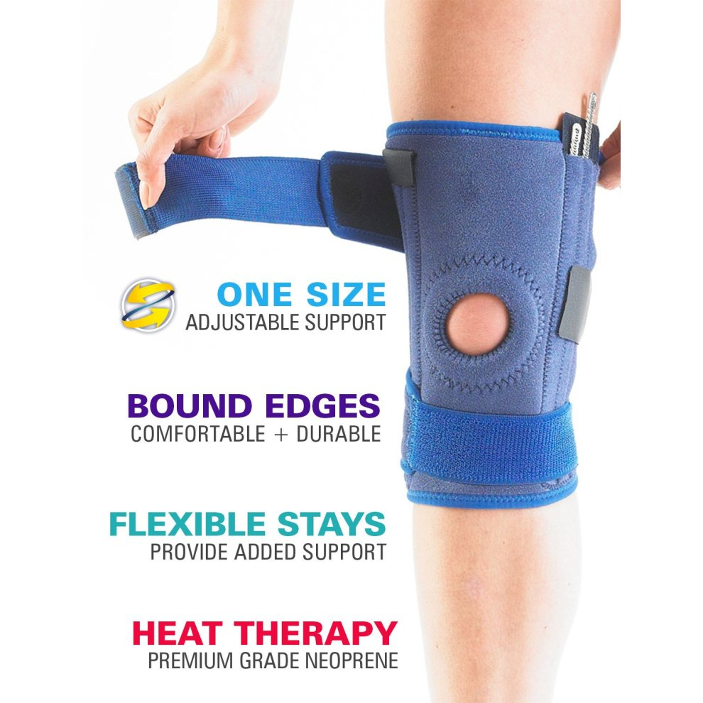 bcf812e4f7 ... NEO G Stabilized Open Knee Support - Medical Grade Quality, x4 flexible  stays - 1 ...