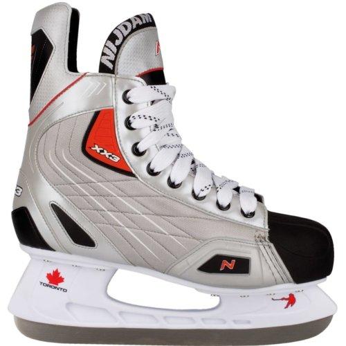 Nijdam Ice Hockey Skates Size 46 Polyester 3385-ZZR-46