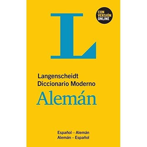 Langenscheidt Diccionario Moderno Alemán - Buch und Online: Espanol - Alemán / Alemán - Espanol \ \ Deutsch-Spanisch / Spanisch-Deutsch