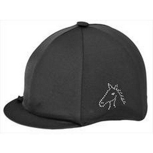 Capz Diamondz Horse Head Lycra Cap Cover