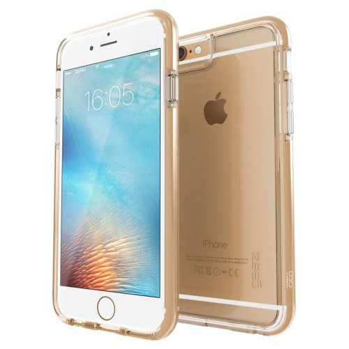 Gold Piccadilly Case Cover for iPhone 6 / 6S D3O Impact Protection by Gear4