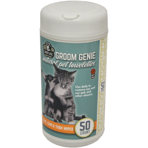 Multipet Groom Genie Sensitive Wipes 50 Count-