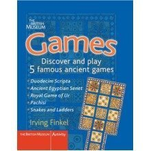 Games: Discover and Play 5 Famous Ancient Games (british Museum Activity Books)