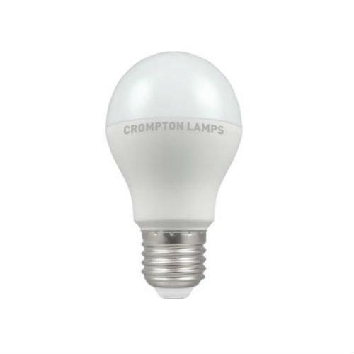 Crompton LED GLS Thermal Plastic 10.5W E27 Very Warm White Opal