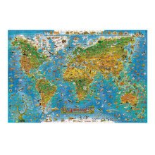 1000PCS Wooden Jigsaw Puzzle  Adult/Children's Games Toys Map