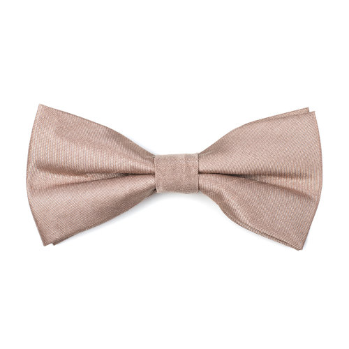 Antique Champagne Shantung Bow Tie #AB-BB1005/1